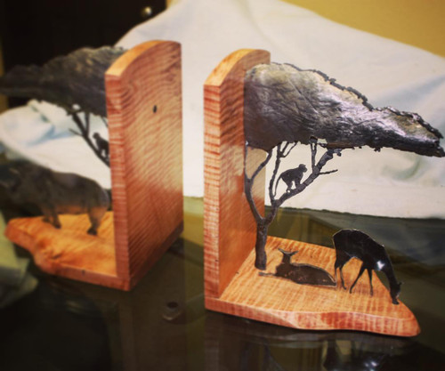Custom Bookends
