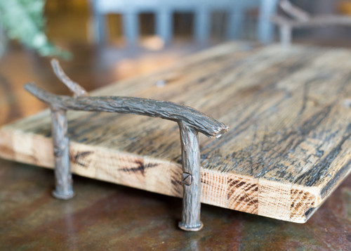 Reclaimed Wood Serving Tray