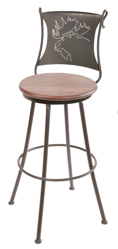 Bull Moose Bar Stool