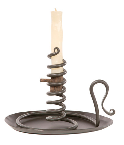 Courting Iron Candle Holder (without drip pan)