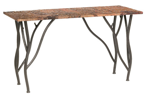 Woodland Console Iron Sofa Table