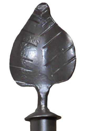 Iron Curtain Finial Leaf