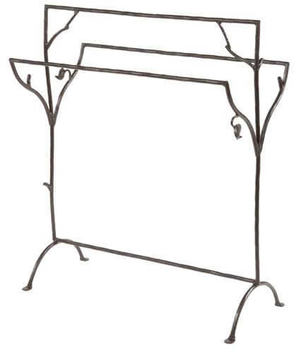 Sassafras Iron Blanket or Towel Stand