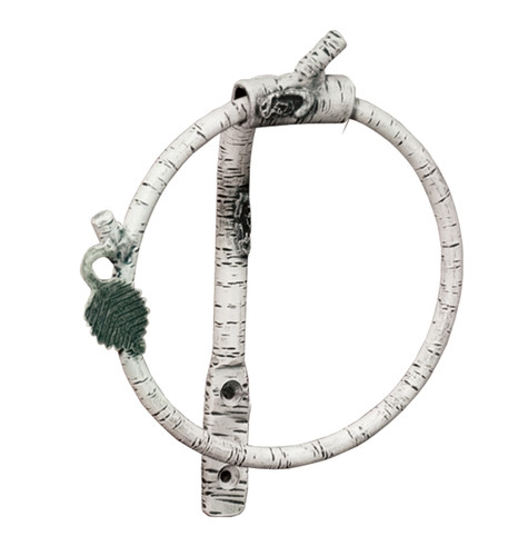 Whisper Creek Iron Towel Ring