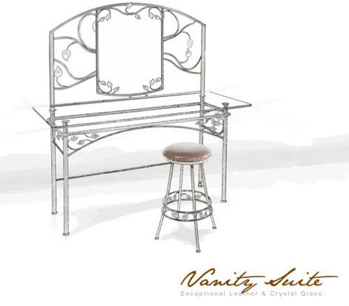 Custom Live Oak Vanity Suite