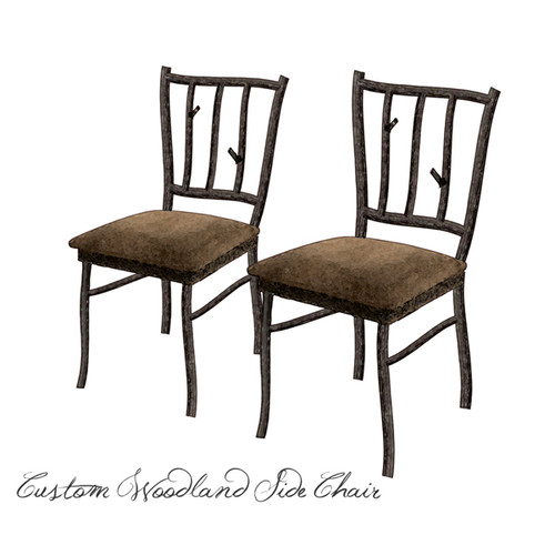 Custom Woodland Side Chair