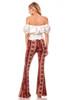Aztec Wide Leg Flare Pant
