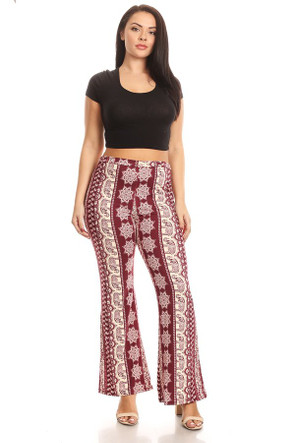 Plus Bell Bottom Pant
