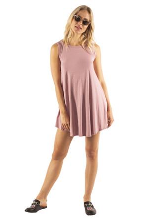 Soft Knit Pocket Swing Dress