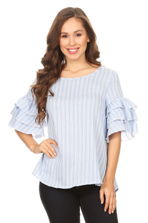 Short Sleeve Bell Top