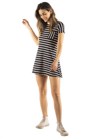 Pocket Tee Shirt Dress
