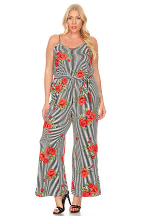 Plus Knit Jumpsuit