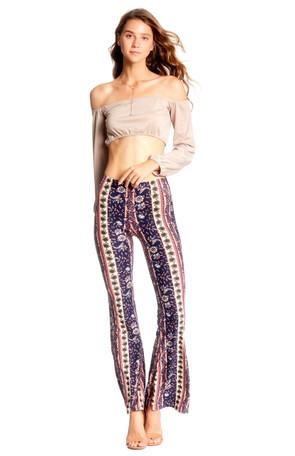 Aztec Flare Pants