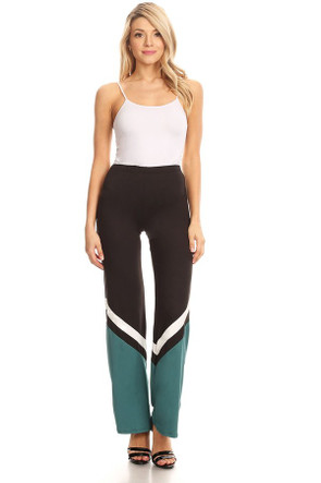 Sports Stripe Flare Pants
