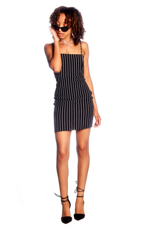Striped Bodycon Mini