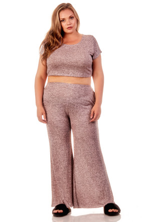 Marled Co Ord Set