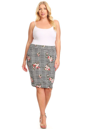 The Plus VIBE Pencil Skirt