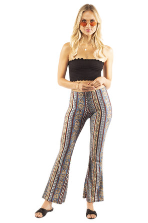 Aztec Bell Bottom Pant