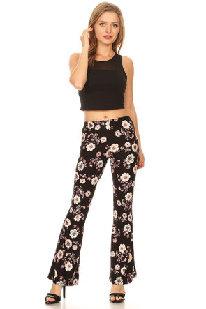 """The """"Floral""""  VIBE Bell Bottom Pant"""