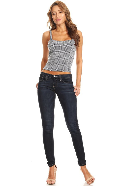 Terry Knit Crop Tank