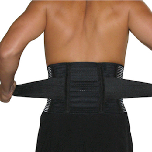 Tri-Adjustable Back Support with Stabilizers
