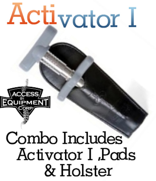 ACTIVATOR- One INSTRUMENT and Palm Pad, Finger Pad and  Holster