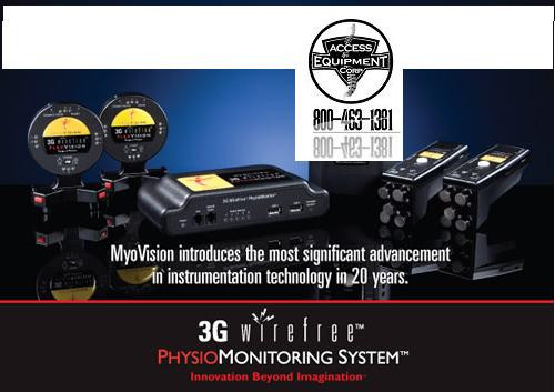 Myovision - Myovision  Package Deal 3   Includes ScanVision ,Flexvision and  Physiovision