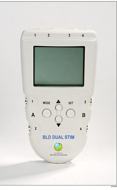Dual Stim - 4 channel PORTABLE TENS and EMS therapy
