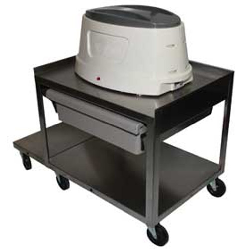Stainless Steel Paraffin Cart w/ one drawer