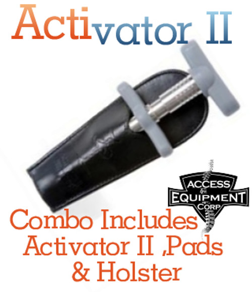 ACTIVATOR- II Combo Includes Palm Pad, Finger Pad and  Holster