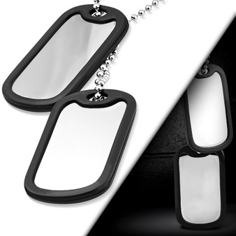 Engraved Dog Tag Pendant Personalized Dog Tag Jewelry