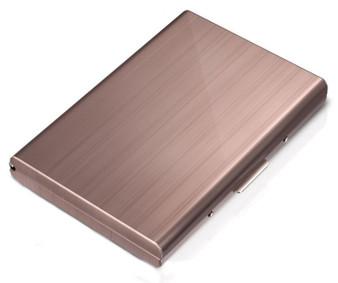 Rose Gold Color RFID Blocking Stylish Wallet Credit Card Holder