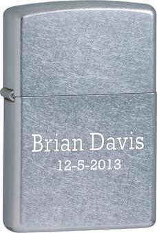 engraved zippo lighter