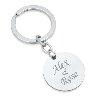 engraved keychains personalized keychains