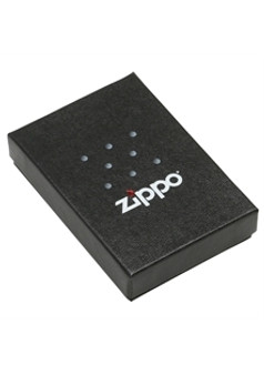 Personalized Blue Matt Zippo Lighter