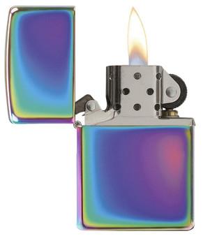 Personalized Classic Rainbow Multi Color Genuine Zippo Lighter