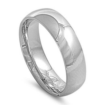 7mm Stainless Steel Comfort Fit Band Ring