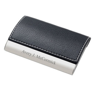 Engraved business card holders and cases engraved card holder colourmoves