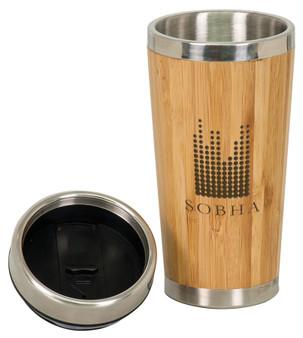 Personalized Bamboo Travel Mug