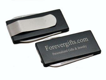 Personalized 2-Tool Money Clip Groomsmen Gifts