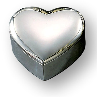 Personalized Small Heart Shaped Jewelry Box