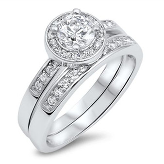 Personalized Sterling Silver Wedding Ring