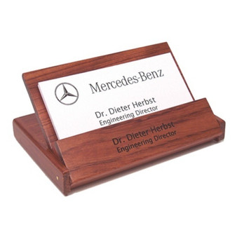 Engraved business card holders and cases personalized rosewood folding business card holder colourmoves