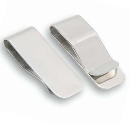 Personalized Quality Stainless Steel Money Clip