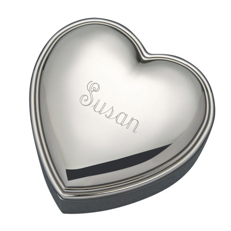Personalized Heart Shaped Jewelry Box ForeverGiftscom