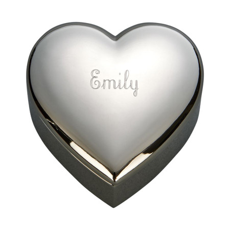 Personalized Small Heart Shaped Jewelry Box ForeverGiftscom