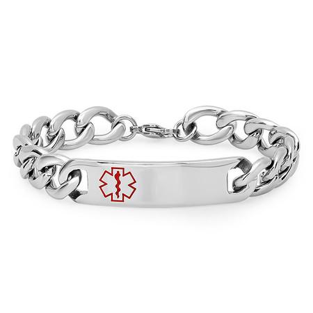 Personalized Medical Alert Bracelet Free Engraving
