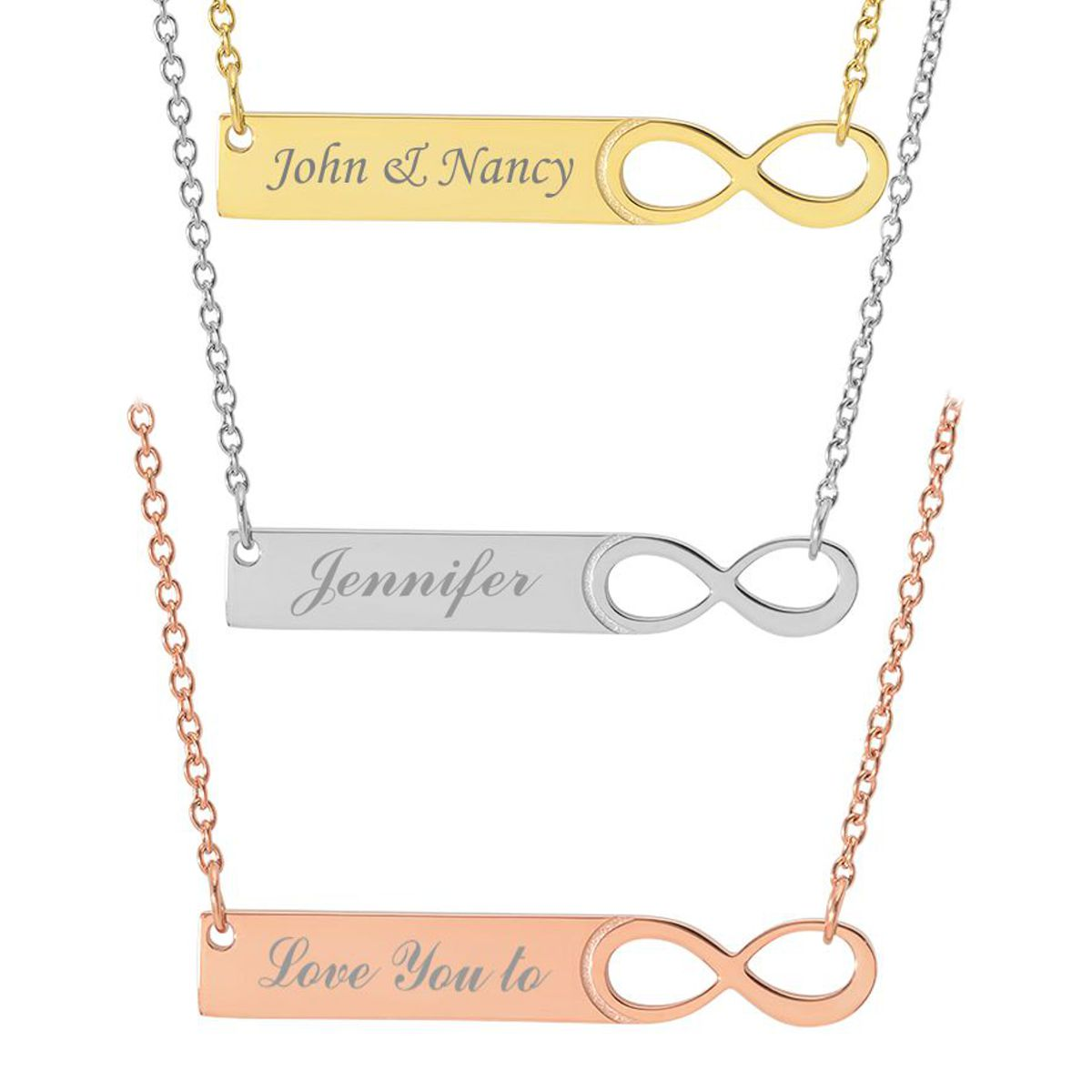 personalized web chain bar multiple shop necklace bars pendant vertical