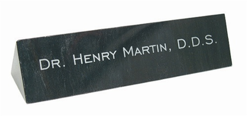 Black Marble Desk Name Bar Forevergifts Com