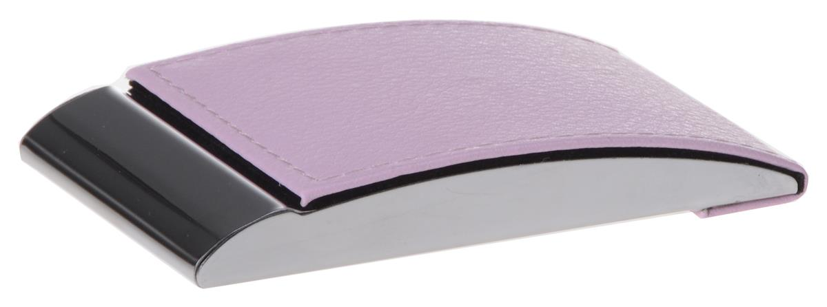 Pink Business Card Holder With Magnetic Closure - ForeverGifts.com